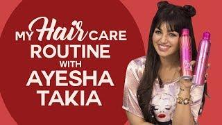 Ayesha Takia reveals her hair care routine secrets | Hair Care Tips | Fashion | Pinkvilla