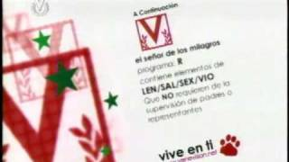 Venevisión Diciembre 2005 Tipo de Programa (Versión Navideña)