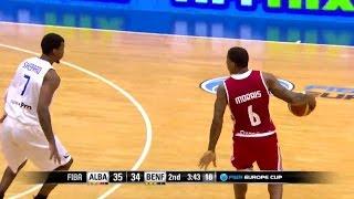 Carlos Morais: Highlights - Alba vs Benfica   9/11 - FIBA Europe Cup