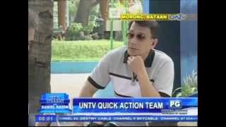 UNTV Quick Action Team on Get it Straight