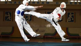 POWERFUL Training of Real Taekwondo Fighters