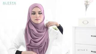 TUTORIAL  -AISYA ~ Fully Instant Shawl 6in1 style