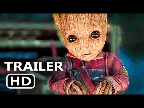 GUARDIANS OF THE GALAXY 2 Official Baby Groot TV Spot 2017 Superhero Movie HD