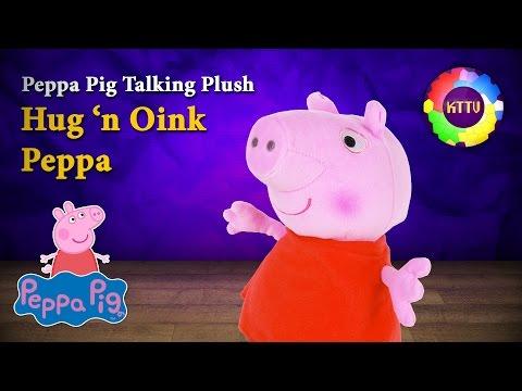 Peppa Pig · Hug 'n Oink Peppa · Fisher-Price Talking Plush by KTTV