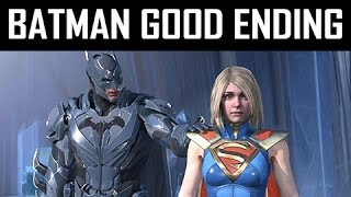 INJUSTICE 2 Walkthrough Part 13 - Absolute Justice - Batman Good Ending (Story Mode Let's Play)