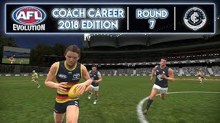 FEELING THE BLUES - AFL Evolution Coach Career 2018 Edition (Round 7)