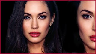Angelina Jolie + Megan Fox HYBRID TRANSFORMATION Makeup Tutorial​​​ | MissJessicaHarlow​​​