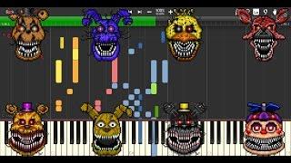 I Got No Time MIDI re-creation (Synthesia)