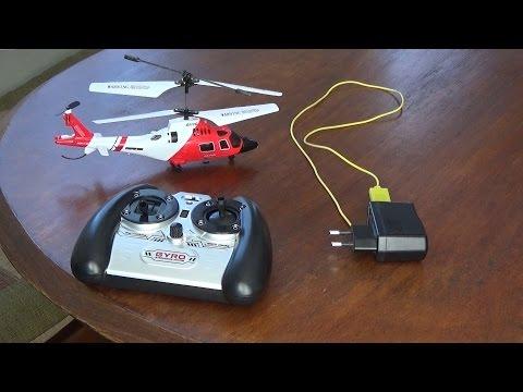 Helicoptero a Control Remoto S111g guarda costa