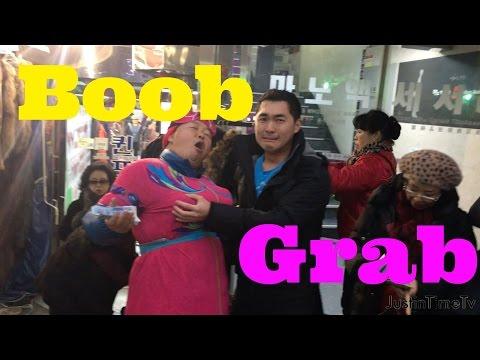 Sexually Harassing a Cross Dresser at Korean Market💃🏼😂🍢 | JustinTimeTV episode 1