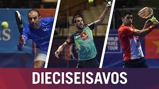 Resumen Jornada de Tarde 1 Dieciseisavos de Final | Estrella Damm Catalunya Master 2018