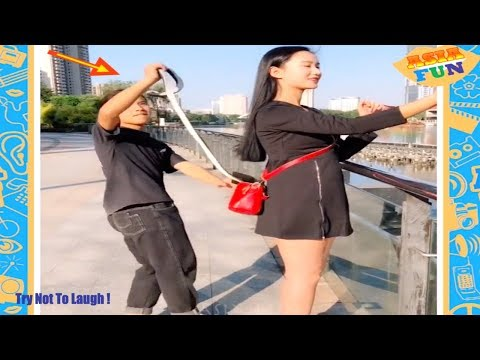 Chinese Comedy Videos Must Watch New Funny Pranks Compilation Try Not To Laugh P10