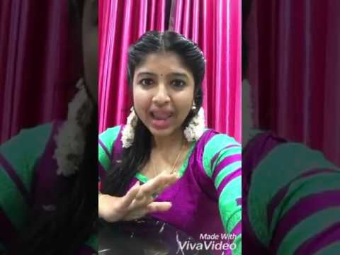 Tamil girl speak.. So different