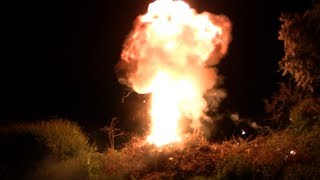 Petrol Bomb Explosion