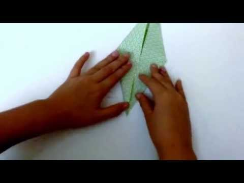 How to do origami pine tree