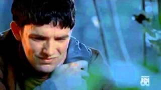 Merlino rivela I suoi poteri ad Artù