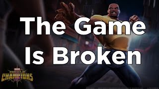 The Game Is Broken - Marvel Contest of Champions