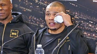 Chris Eubank Jr POST FIGHT PRESS CONFERENCE after his loss over George Groves