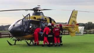 Medicopter w akcji