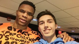 RUSSELL WESTBROOK WATCHED MY VIDEOS!! NOT CLICKBAIT