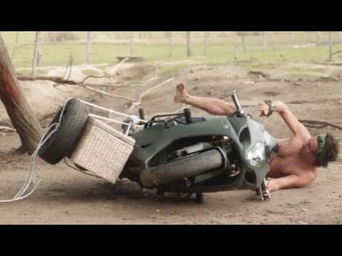 Moto Tour 2012: Et Dieu créa la moto ET le side-car VERSION HD ! (épisode 1/3)