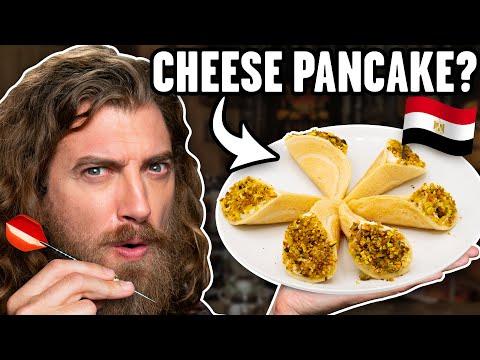 International Cheese Dishes Taste Test