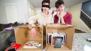 WIN iPhone 11 PRO or TRAP - EXTREME Whats In The Box Challenge