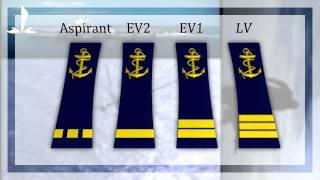 Grades Marine Nationale française
