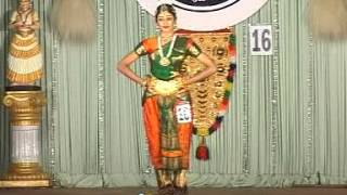 Aishwarya in school kalothsavam 52 at trisur Barathanattyam-(Classical Dance)