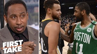 Stephen A. lists the ways Celtics could 'screw up' dethroning the Warriors | First Take