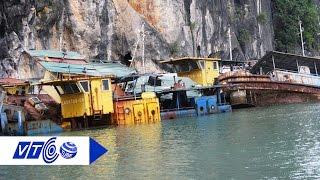 Dẹp bãi tàu 'ma' trên Vịnh Hạ Long | VTC