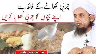 Charbi khane ke fayde | Mufti Tariq Masood | latest Bayan | Islamic YouTube
