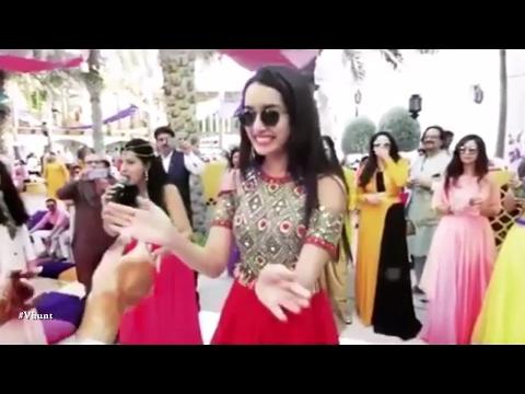 Xxx Mp4 Shraddha Kapoor Dancing At Friend S Wedding New Bollywood Movies News 2017 3gp Sex