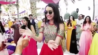 Shraddha Kapoor Dancing At Friend's Wedding | New Bollywood Movies News 2017