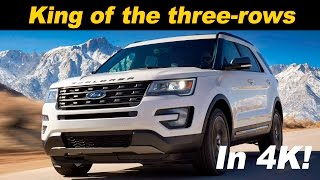 2016 / 2017 Ford Explorer Review and Road Test - Detailed in 4K UHD!