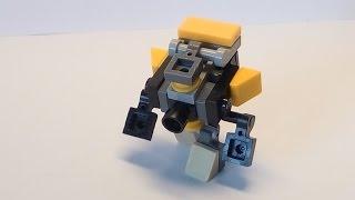 Как из лего сделать трансформера мини