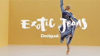 #Hiplet ballerinas present Desigual Exotic Jeans SS17