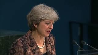 Theresa May urged a safer internet at UNGA!