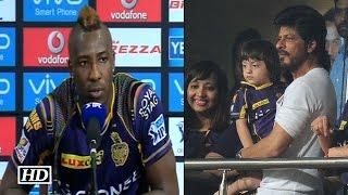 IPL9 KKR vs KXIP: Andre Russel praises Shah Rukh Khan After Win