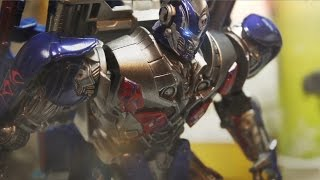 Transformers stop motion : Fall of evil