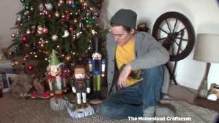 Making Homemade Nutcrackers