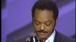 Jesse Jackson Speech to 1988 Convention Pt. 4