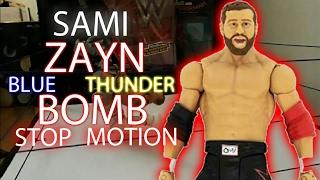 WWE Stop Motion Blue Thunder Bomb Sami Zayn(Feat. Seth Rollins)