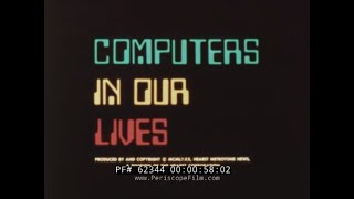 COMPUTERS IN OUR LIVES  1980s INTRODUCTION TO COMPUTERS 62344