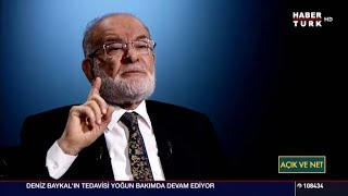 Temel Karamollaoğlu, HaberTürk Açık ve Net Programına Konuk Oldu - 19.10.2017