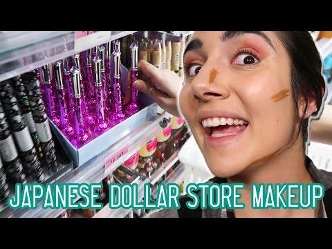 Japanese Dollar Store Makeup Challenge