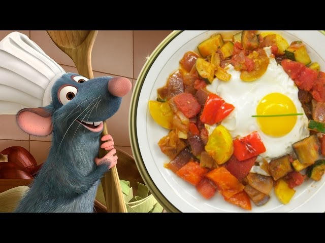 Remy's Ratatouille with Poached Eggs | Inspired by Disney ♦ Pixar's Ratatoullie