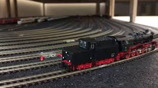 Spur N - FLM BR 50 493 Kabinentender - Maxon Motor - Sound