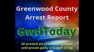 Greenwood County Arrest Photos for April 24, 2018
