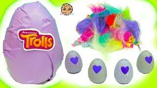 Hatchimals Hatching Surprise Blind Bag Baby Eggs + Dreamworks Trolls Egg
